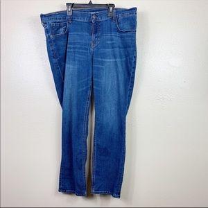 Old navy boyfriend straight jeans